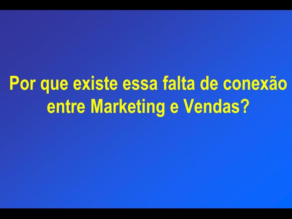 Por que existe essa falta de conexão entre Marketing e Vendas?