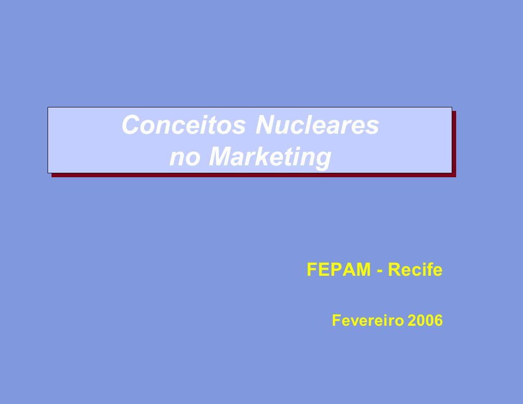 Conceitos Nucleares no Marketing FEPAM - Recife Fevereiro 2006