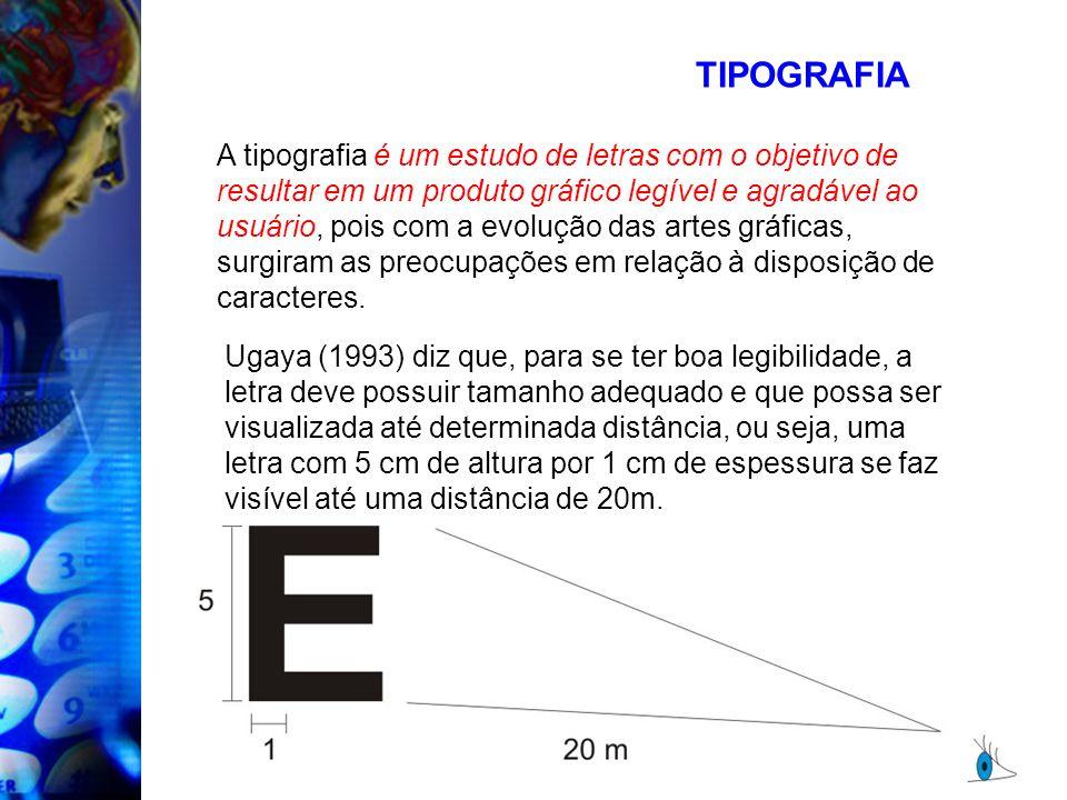 A tipografia é um estudo de letras com o objetivo de resultar em um produto gráfico legível e agradável ao usuário, pois com a evolução das artes gráf