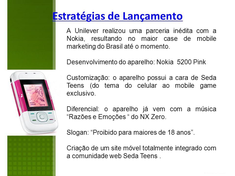 A Unilever realizou uma parceria inédita com a Nokia, resultando no maior case de mobile marketing do Brasil até o momento. Desenvolvimento do aparelh