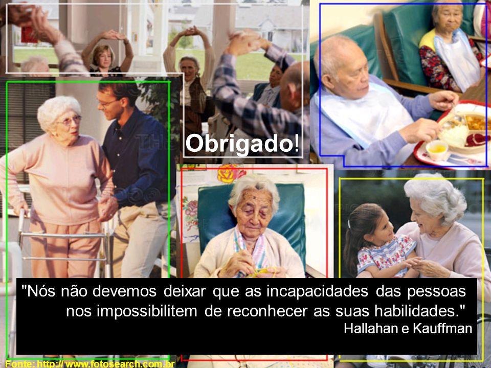 ACESSIBILIDADE EM INSTITUIÇÕES ASILARES. Obrigado! Fonte: http:// www.fotosearch.com.br