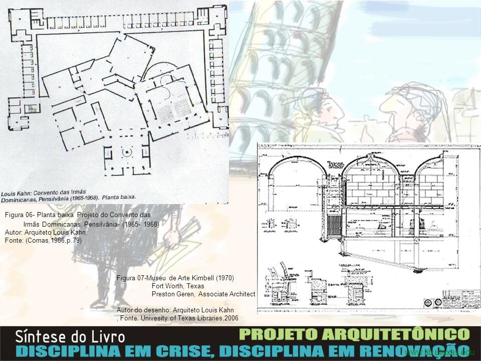 A unidade fundamental no ensino de arquitetura é o ateliê, forma a espinha dorsal que estruturas as atividades do curso.