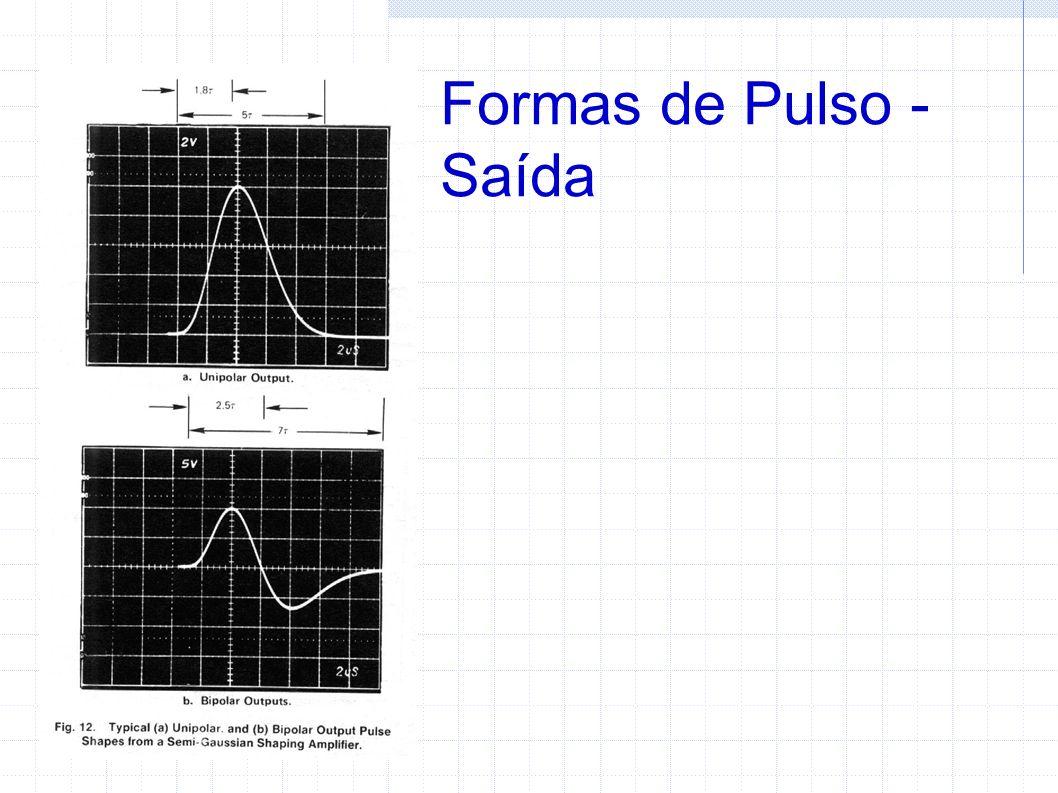 Formas de Pulso - Saída