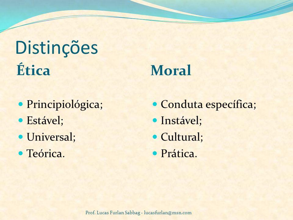 Ética: Síntese Não faça ao outro o que não queres que o outro faça a ti (atitude passiva).