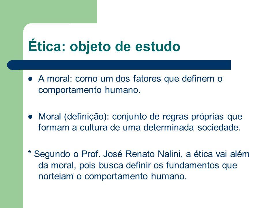 Ética x Moral Principiológica; Estável; Universal; Teórica.