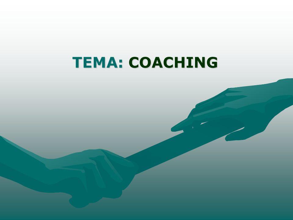 DELIMITAÇÃO DO TEMA Coaching de equipe e o desenvolvimento de competências gerenciais (negociação e inteligência emocional nas formas de linguagem oral e não- verbal).