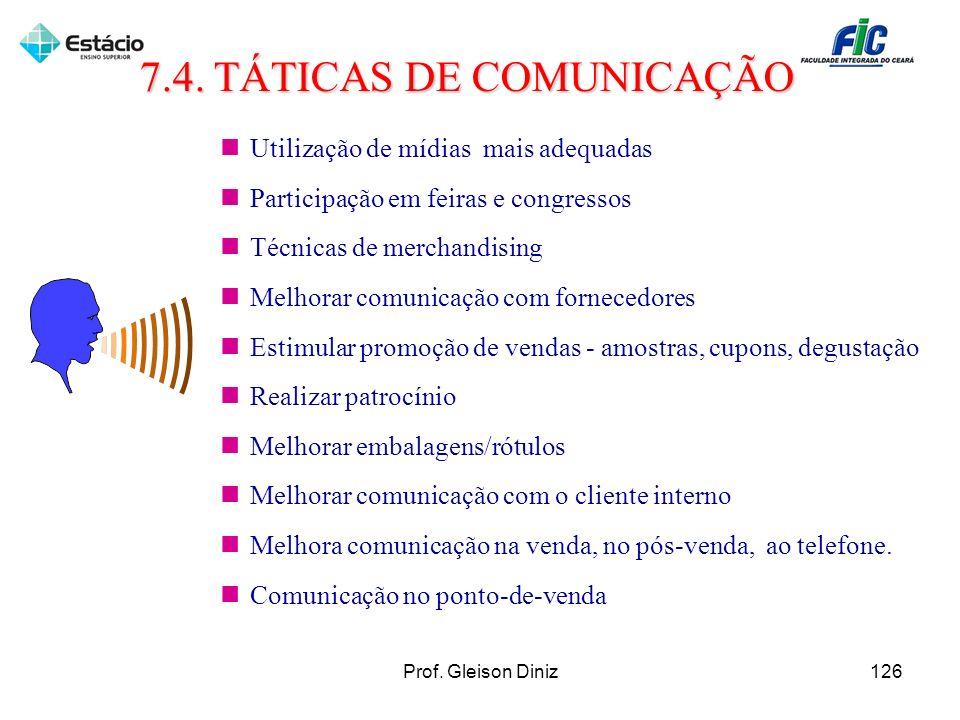 Utilização de mídias mais adequadas Participação em feiras e congressos Técnicas de merchandising Melhorar comunicação com fornecedores Estimular prom