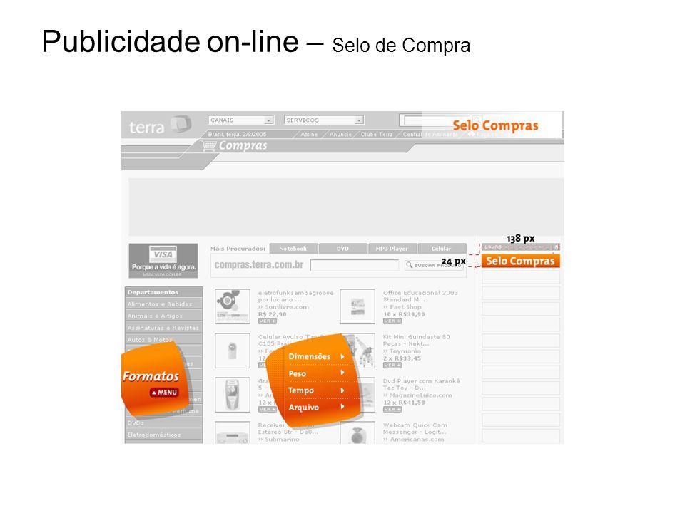 Publicidade on-line – Selo de Compra