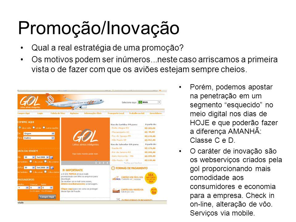 Publicidade on-line – Promoções A promoção ou concurso cultural sempre gera um bom retorno de branding, de conversão para base de dados e marketing viral.