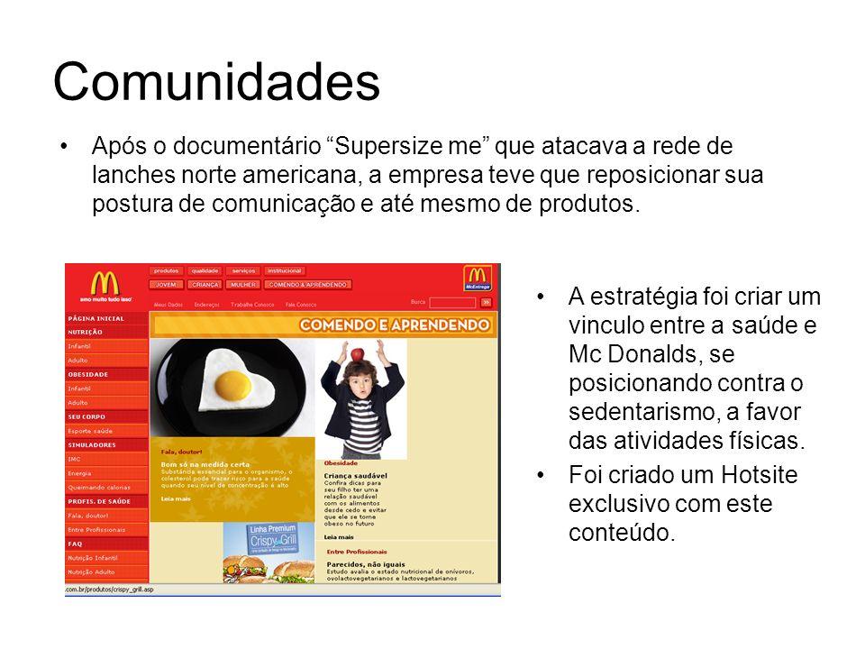 Site Promocional (1) trocar a cor (2) Girar (3) Assistir o filme (4) Agendar testdrive (5) Encontrar concessionária (6) Contato O Hotsite promocional é bastante utilizado para a divulgação de um evento ou produto.