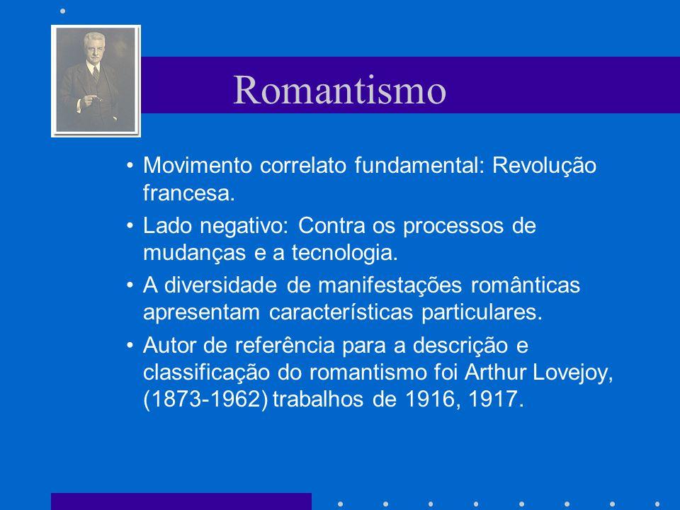 Romantismo - Ontologia A natureza humana não é um produto nem da natureza e nem da racionalidade mas sim das forças históricas.