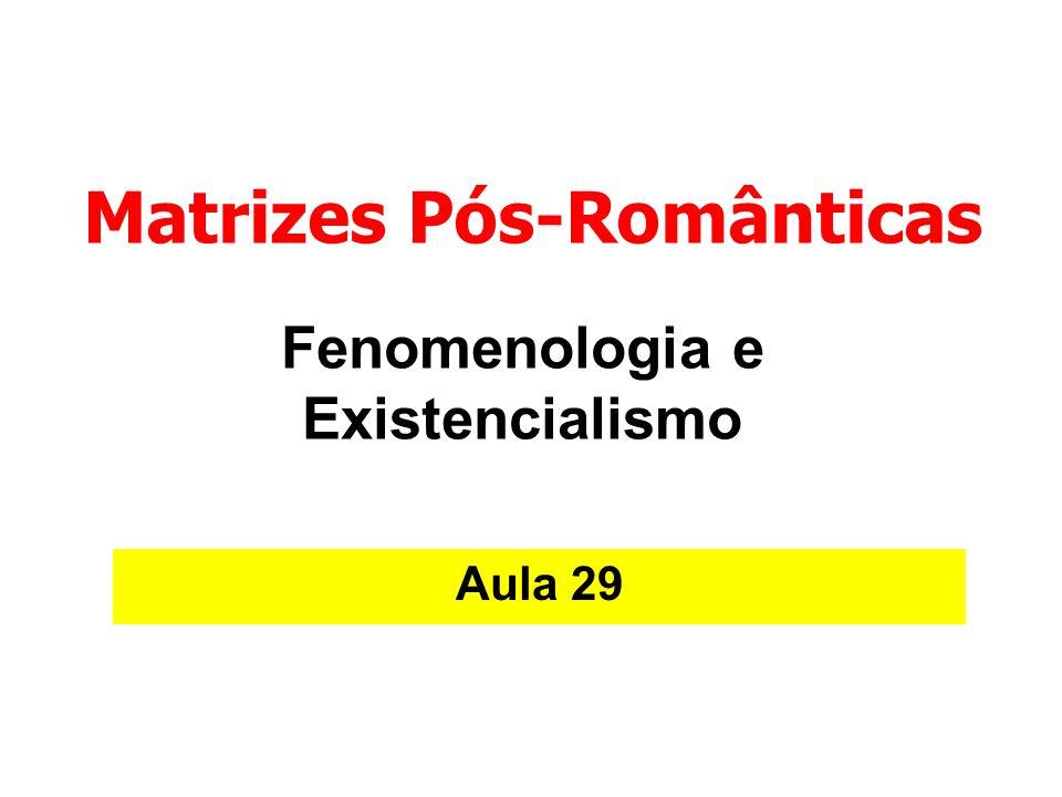 Analítica e psicanálise existencial Nos fins da década de 20 a fenomenologia tomou novo rumo.