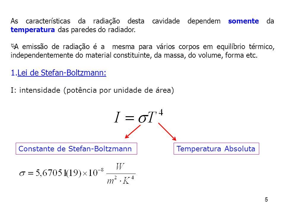 46 O modelo de Bohr (2) Quantização da energia Cada nível corresponde a um valor de n.