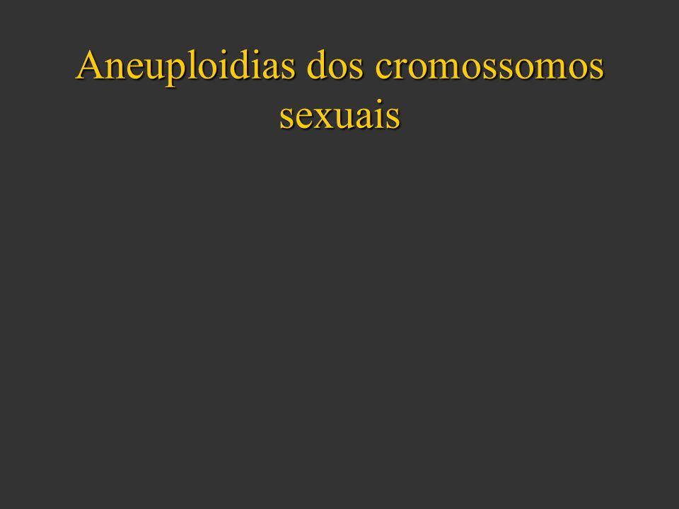 Aneuploidias dos cromossomos sexuais