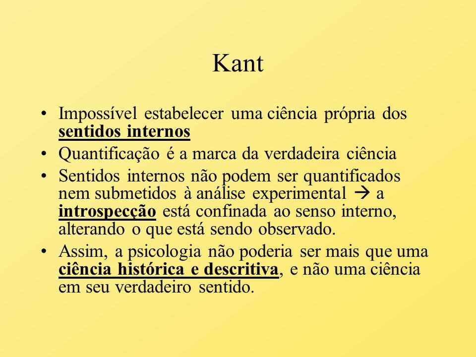 Kant Toda a experiência, isto é, o mundo fenomenal que constitui nossa consciência, é uma construção sintética.