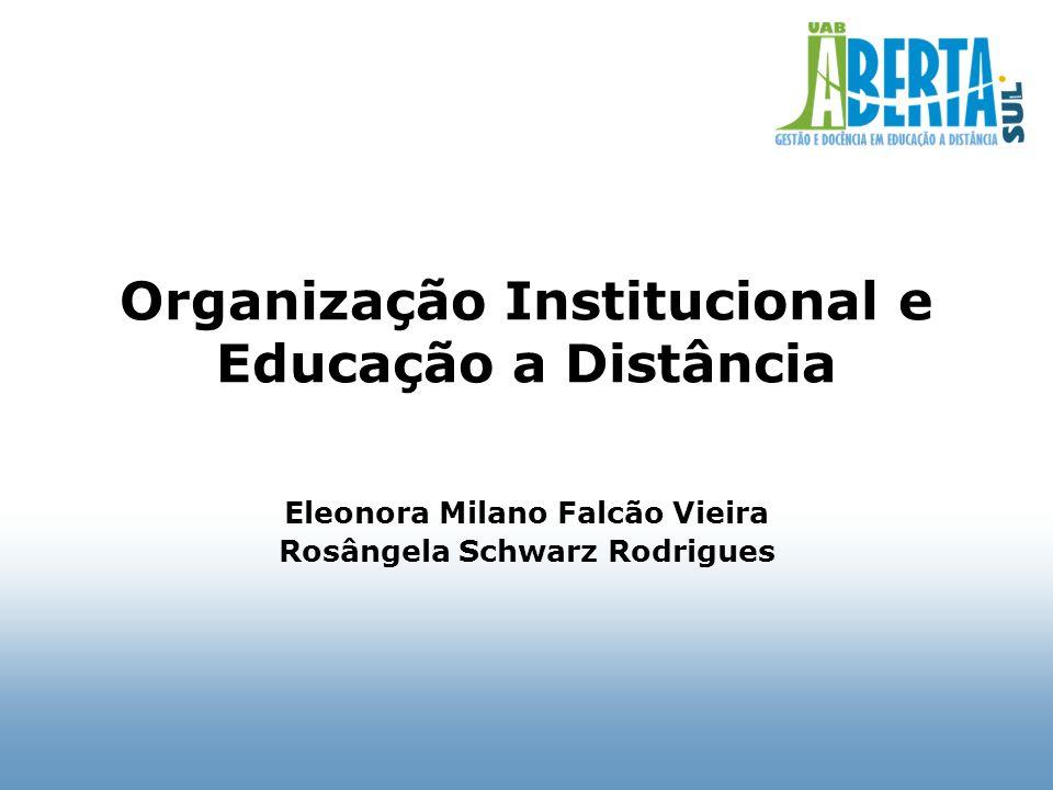 Sumário Gerações de EaD Modelos de Instituição Modelos de cursos Legislação Avaliação, Credenciamento, Reconhecimento Referenciais de qualidade Formulário de Verificação in loco - MEC