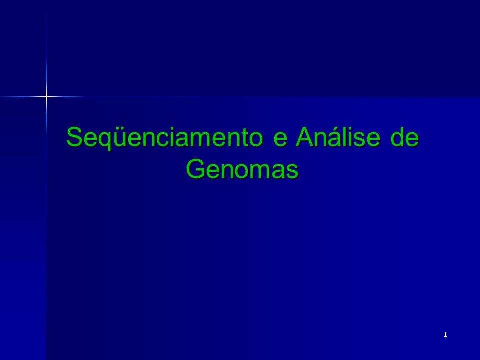 1 Seqüenciamento e Análise de Genomas