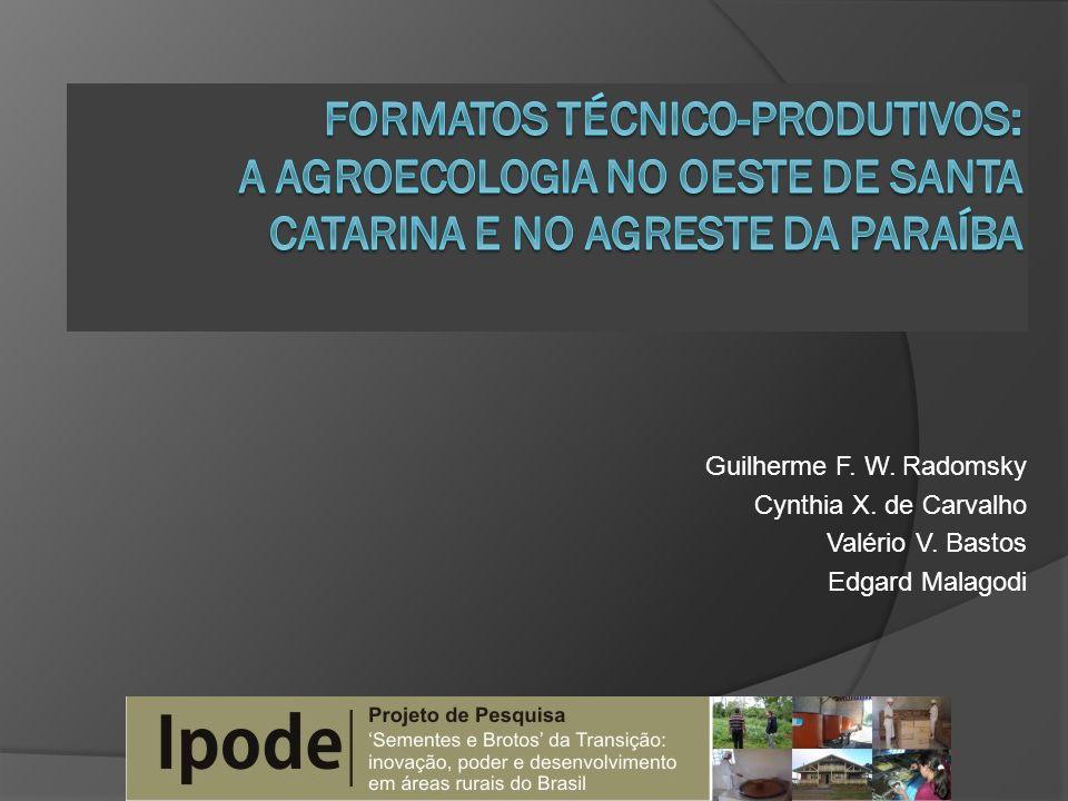 Guilherme F. W. Radomsky Cynthia X. de Carvalho Valério V. Bastos Edgard Malagodi
