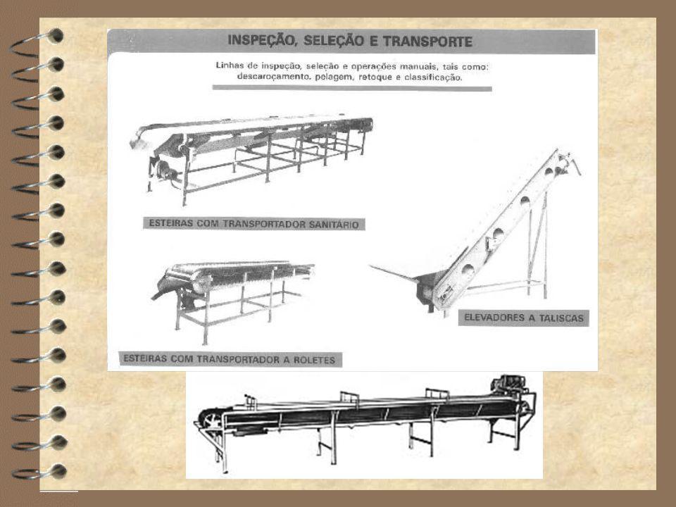 4 Verdes x Maduros Seleção Métodos Manual 4 Retirar podres ou danificados 4 Estado sanitário, cor e maturidade Colorimétricos
