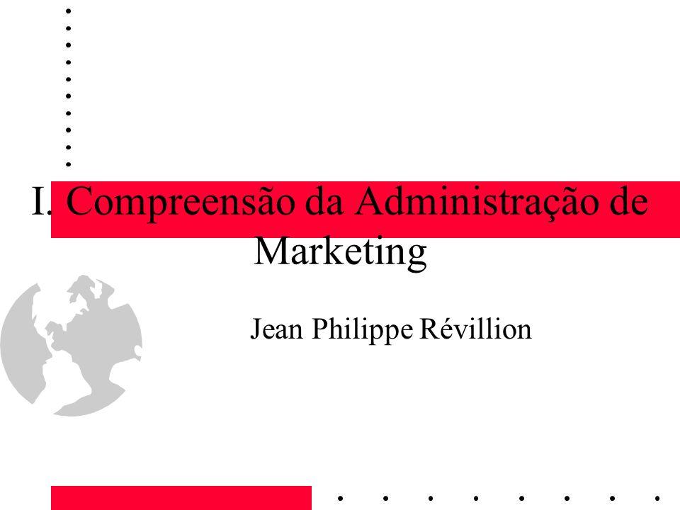 I. Compreensão da Administração de Marketing Jean Philippe Révillion