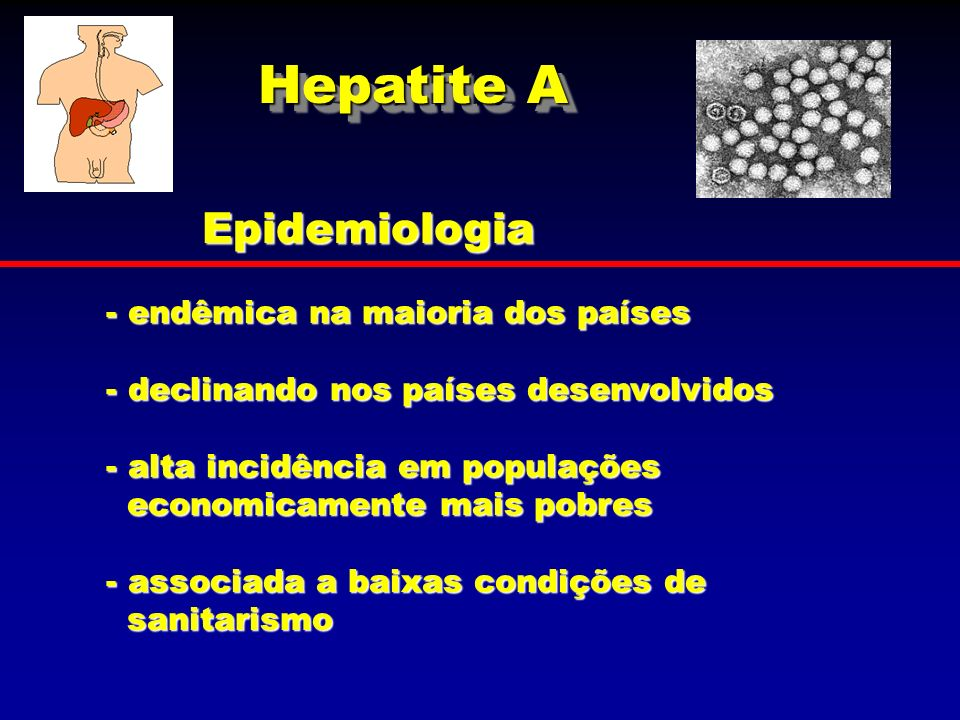 Epidemiologia - endêmica na maioria dos países - declinando nos países desenvolvidos - alta incidência em populações economicamente mais pobres econom