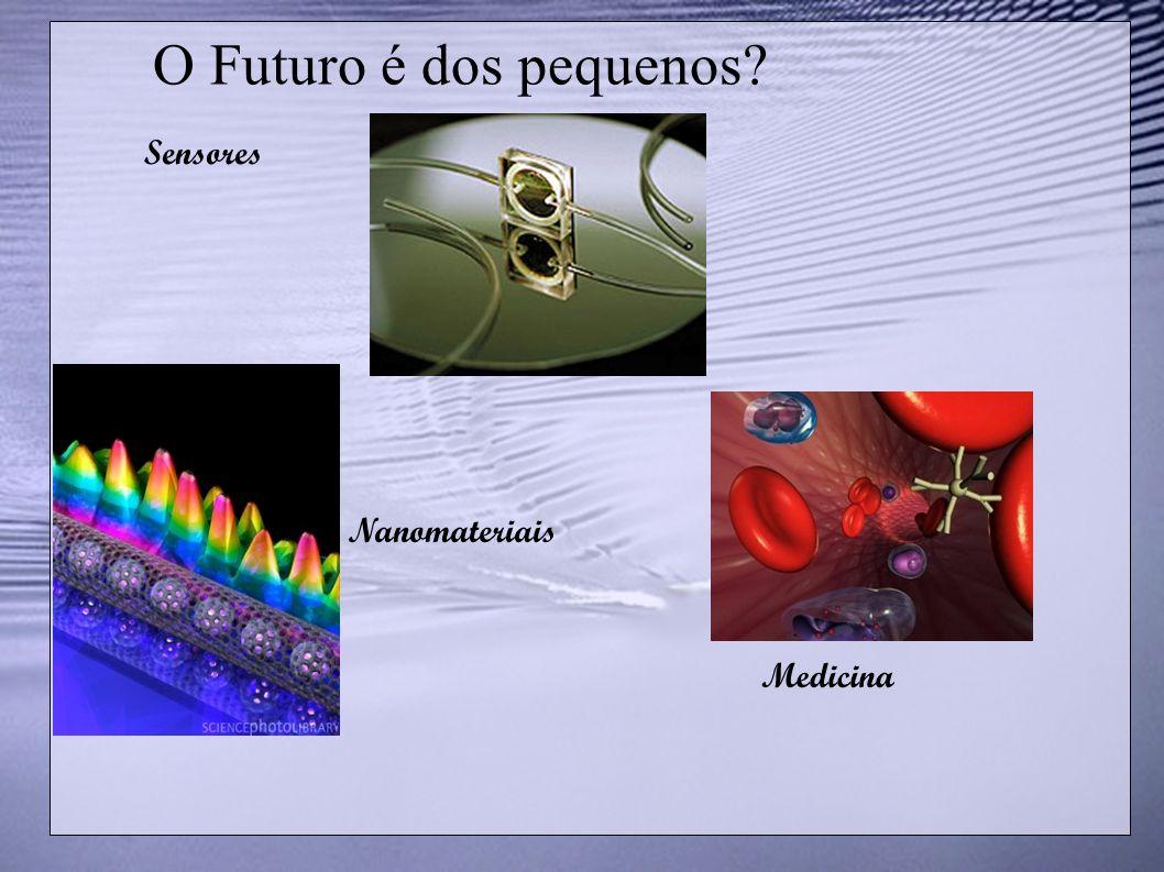 O Futuro é dos pequenos? Sensores Medicina Nanomateriais