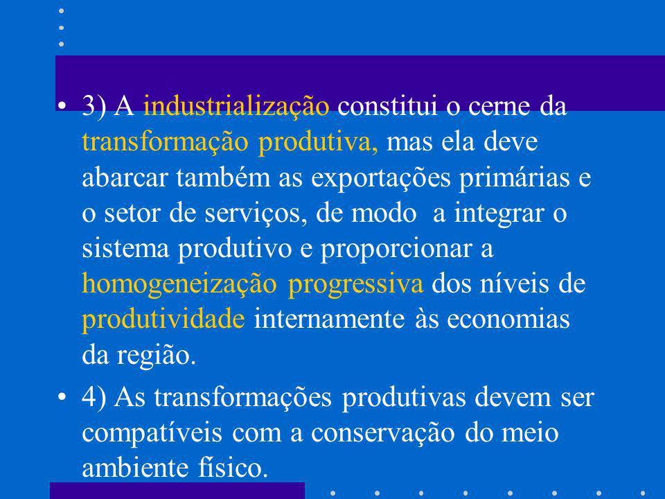 Qual a orientação básica da política integração econômica proposta pela Cepal.