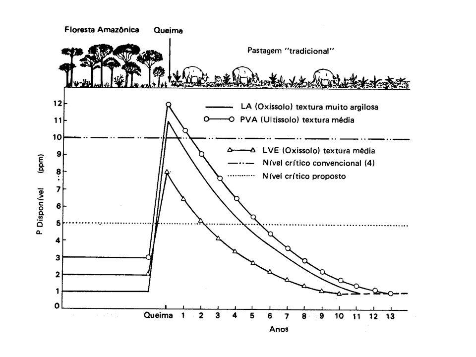 Adubação nitrogenada Nitrogênio – nutriente mais consumido no mundo Fontes mais difundidas – uréia e sulfato de amônio Uréia perdas de até 30% do N aplicado em pastagens tropicais Sulfato de amônio perdas insignificantes Sulfato tem maior custo - Preço do kg do N Adubação nitrogenada é o item que mais contribui no custo total da pastagem (corresponde entre 34 e 47% do custo total) A fonte de N não influencia o desempenho animal (manejo animal + manejo do adubo) Resposta ao uso do N –Manejo da pastagem – altura de pastejo X resíduo pós pastejo –Condições edafo-climáticas