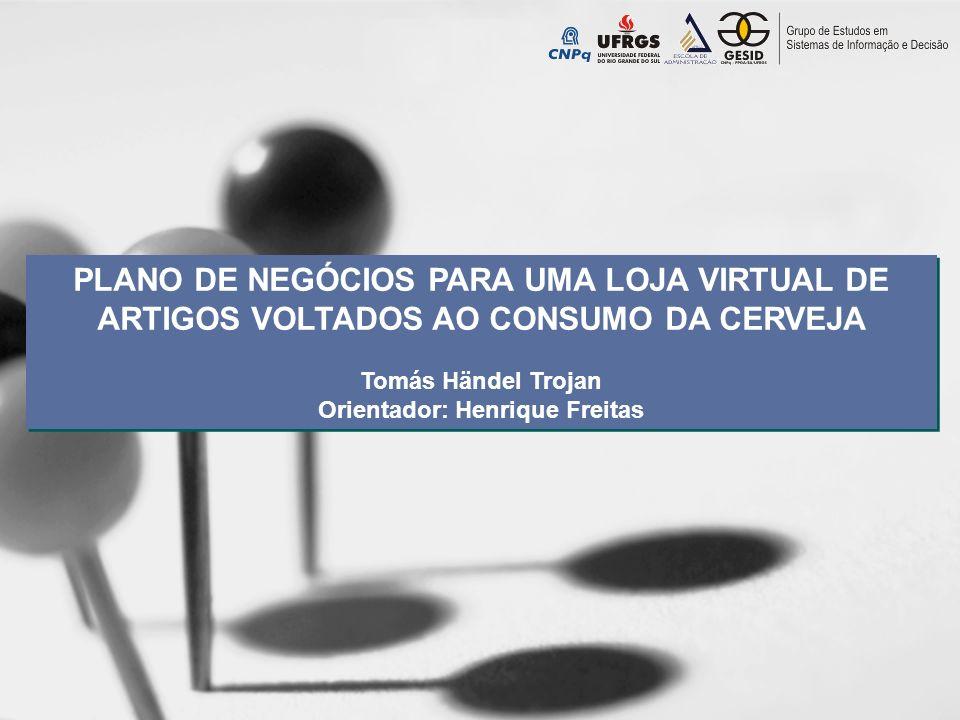 Introdução Crescimento notável do Comércio Eletrônico no Brasil; Aproveitar provável oportunidade de negócios; Interesse pessoal do autor; 59,9% das empresas criadas não sobrevivem além dos quatro anos (SEBRAE, 2009);