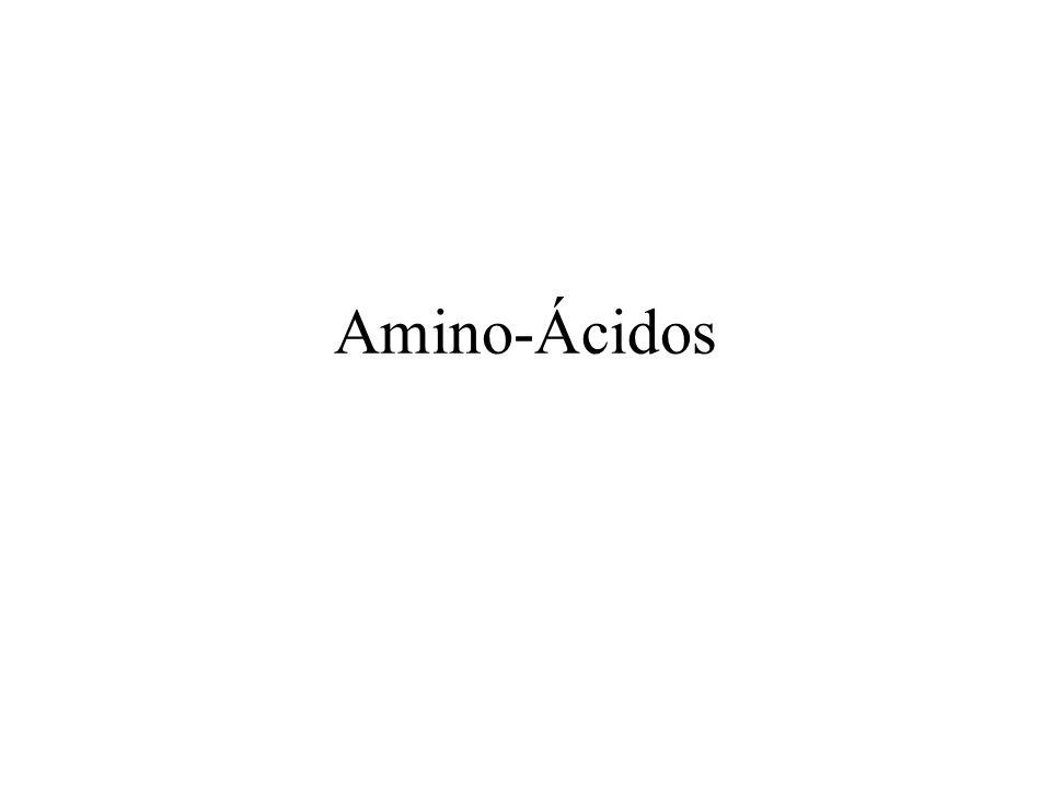 Estrutura geral dos Aminoácidos
