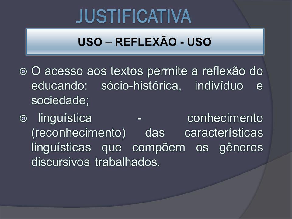 USO – REFLEXÃO - USO