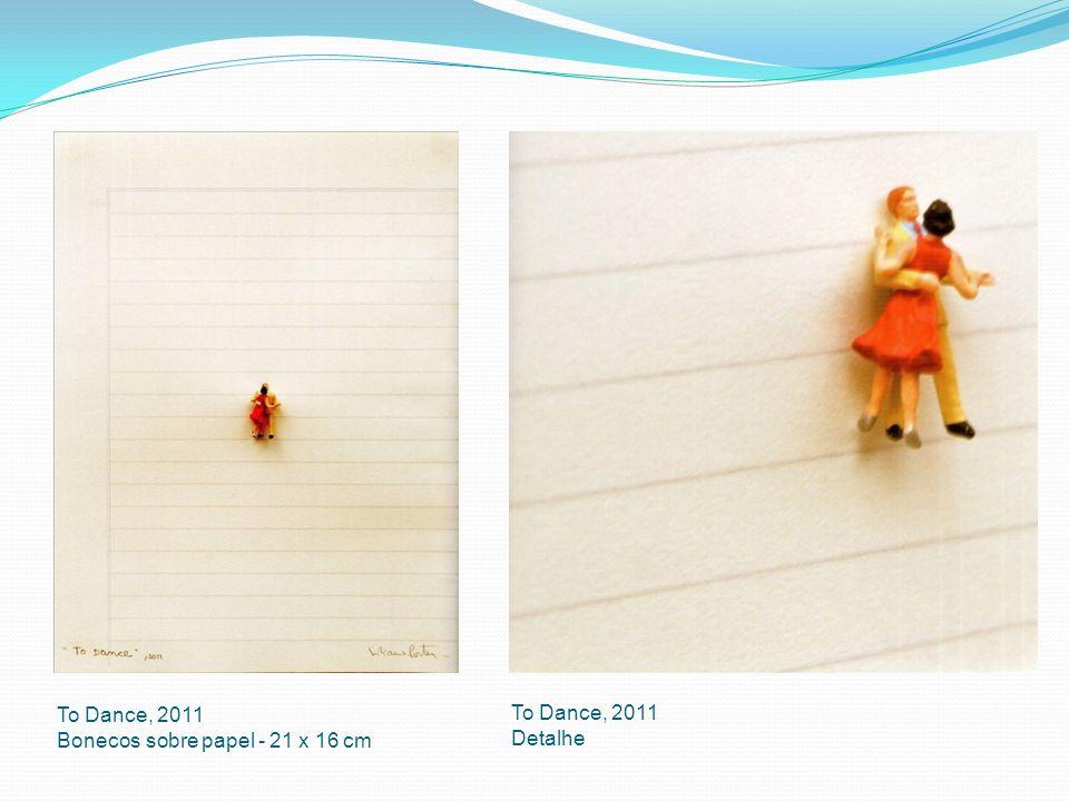 To Dance, 2011 Bonecos sobre papel - 21 x 16 cm To Dance, 2011 Detalhe