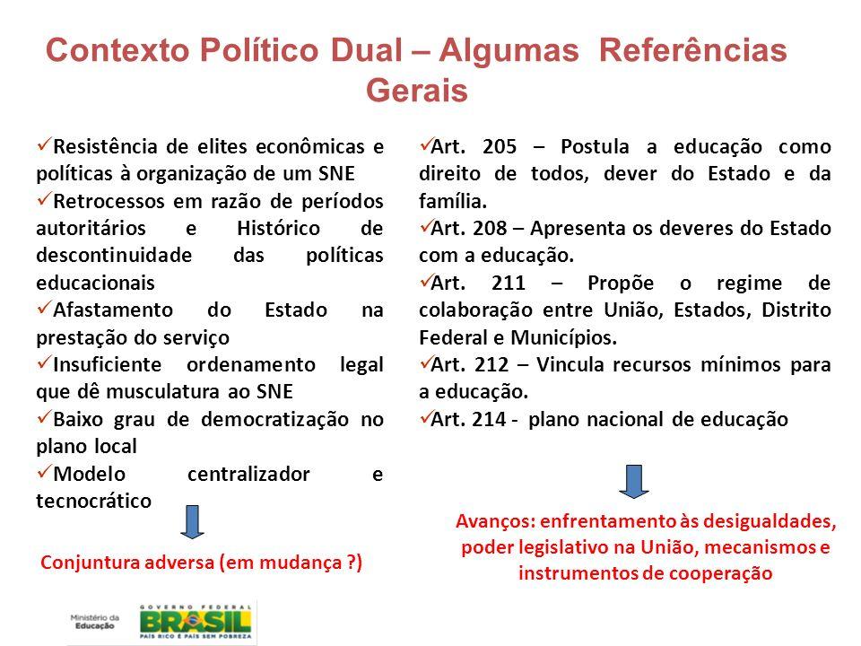 Crescente participação da sociedade Estado assumindo e convocando a sociedade brasileira.
