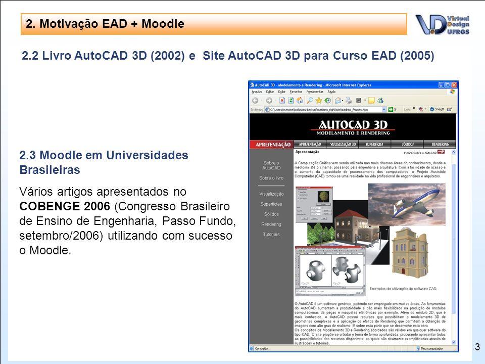 3 www.campusvirtual.ufrgs.br Navegação pela UFRGS em realidade virtual 3D através da internet Menção Honrosa no Prêmio de Objetos de Aprendizagem da A