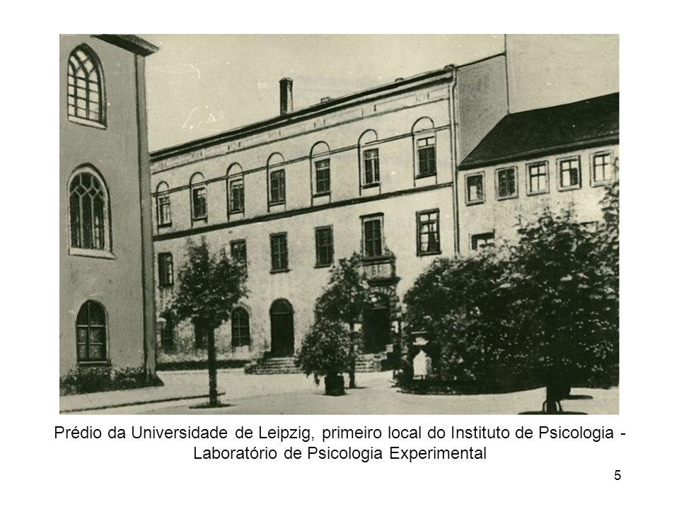 5 Prédio da Universidade de Leipzig, primeiro local do Instituto de Psicologia - Laboratório de Psicologia Experimental