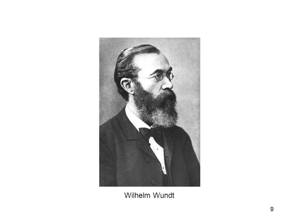 9 Wilhelm Wundt