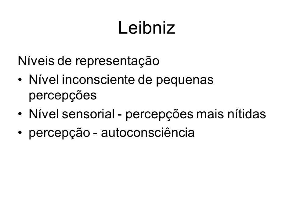 Leibniz (1646-1716) Lógica Racionalista e reflexionista.