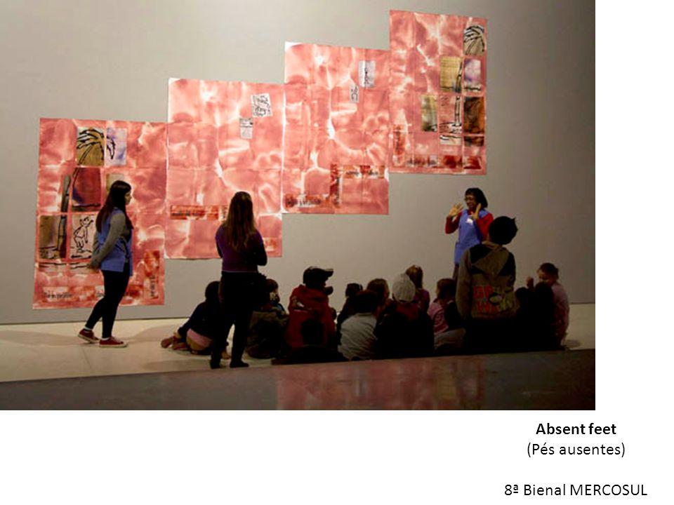 Absent feet (Pés ausentes) 8ª Bienal MERCOSUL