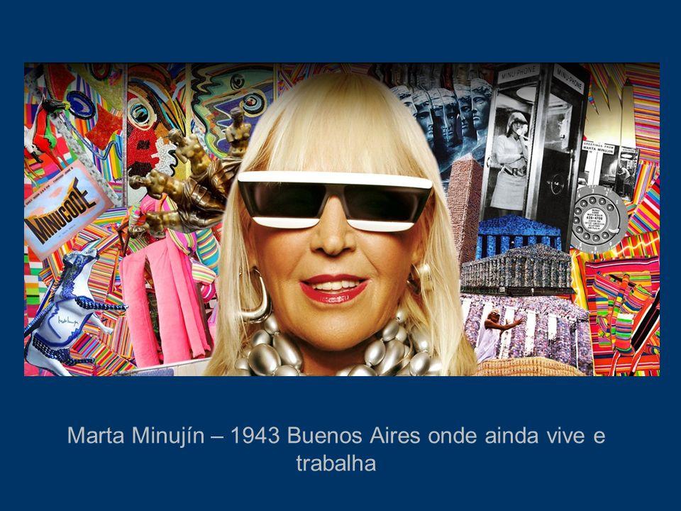 Estudou na Escuela de Belas Artes de Buenos Aires 1961 – Ganhou bolsa de estudos em Paris