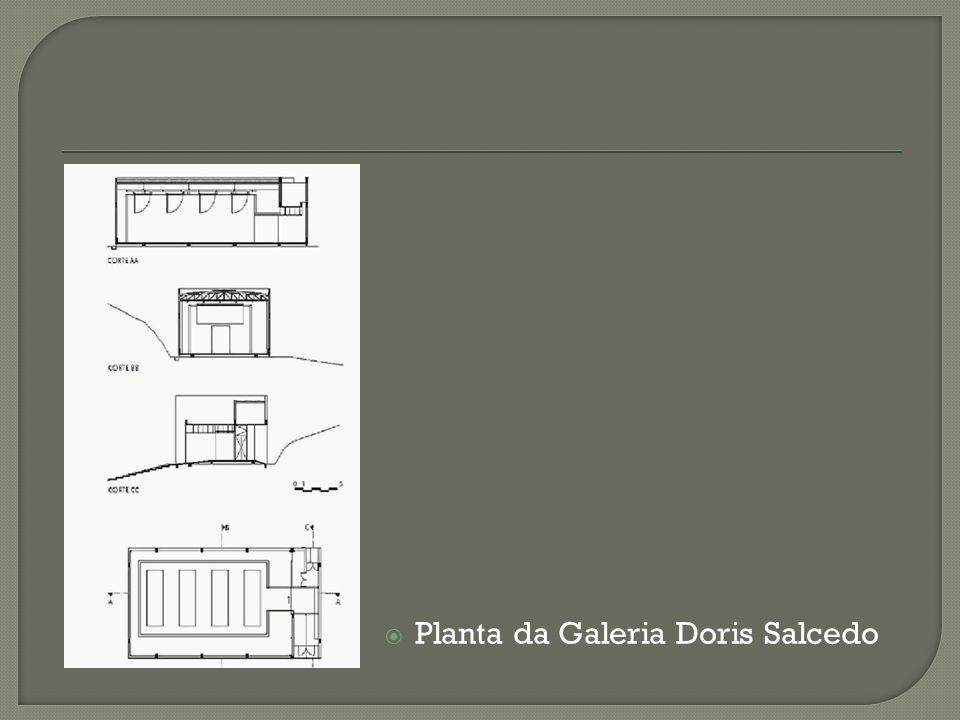 Planta da Galeria Doris Salcedo