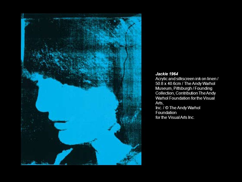 Three Marilyns 1962 Acrylic, silkscreen ink, and graphite on linen / 35.6 x 85.1cm / The Andy Warhol Museum, Pittsburgh / Founding Collection, Contribution The Andy Warhol Foundation for the Visual Arts, Inc.