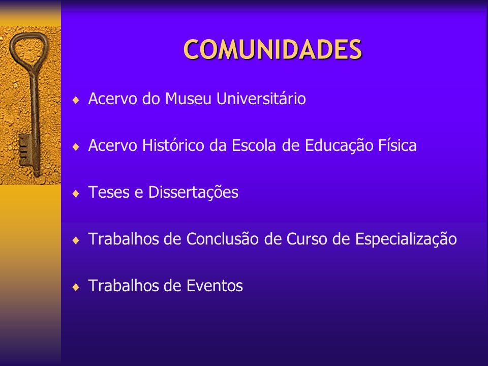 COMUNIDADES Acervo do Museu Universitário Acervo Histórico da Escola de Educação Física Teses e Dissertações Trabalhos de Conclusão de Curso de Especi