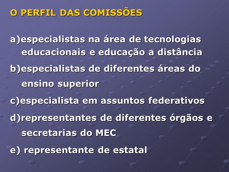 Processo de Avaliação Etapas PrimeiraEtapa(Pré-Seleção)SegundaEtapa(Projeção)TerceiraEtapa(Consolidação) Perspectiva Inclusiva Construção da Metodologia