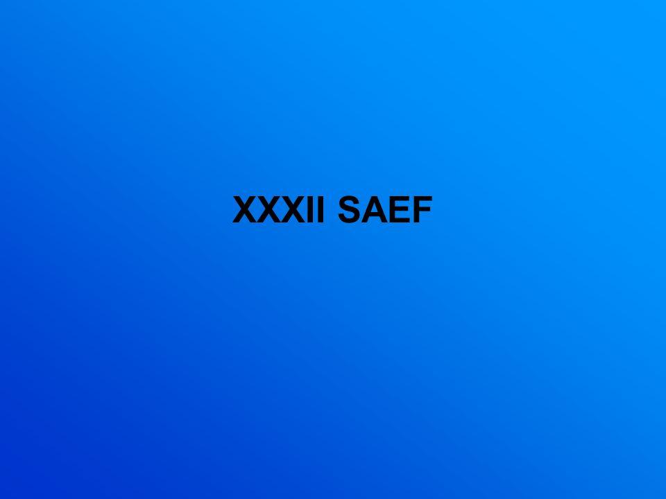XXXII SAEF