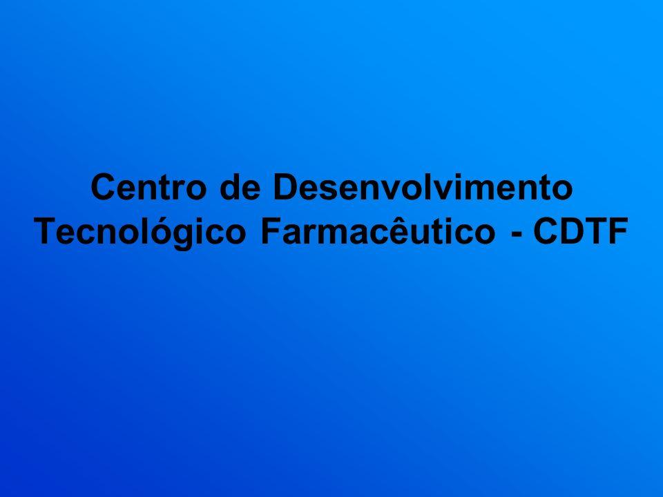Centro de Desenvolvimento Tecnológico Farmacêutico - CDTF
