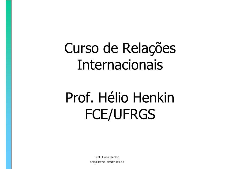 Prof. Hélio Henkin FCE/UFRGS PPGE/UFRGS Apostila3