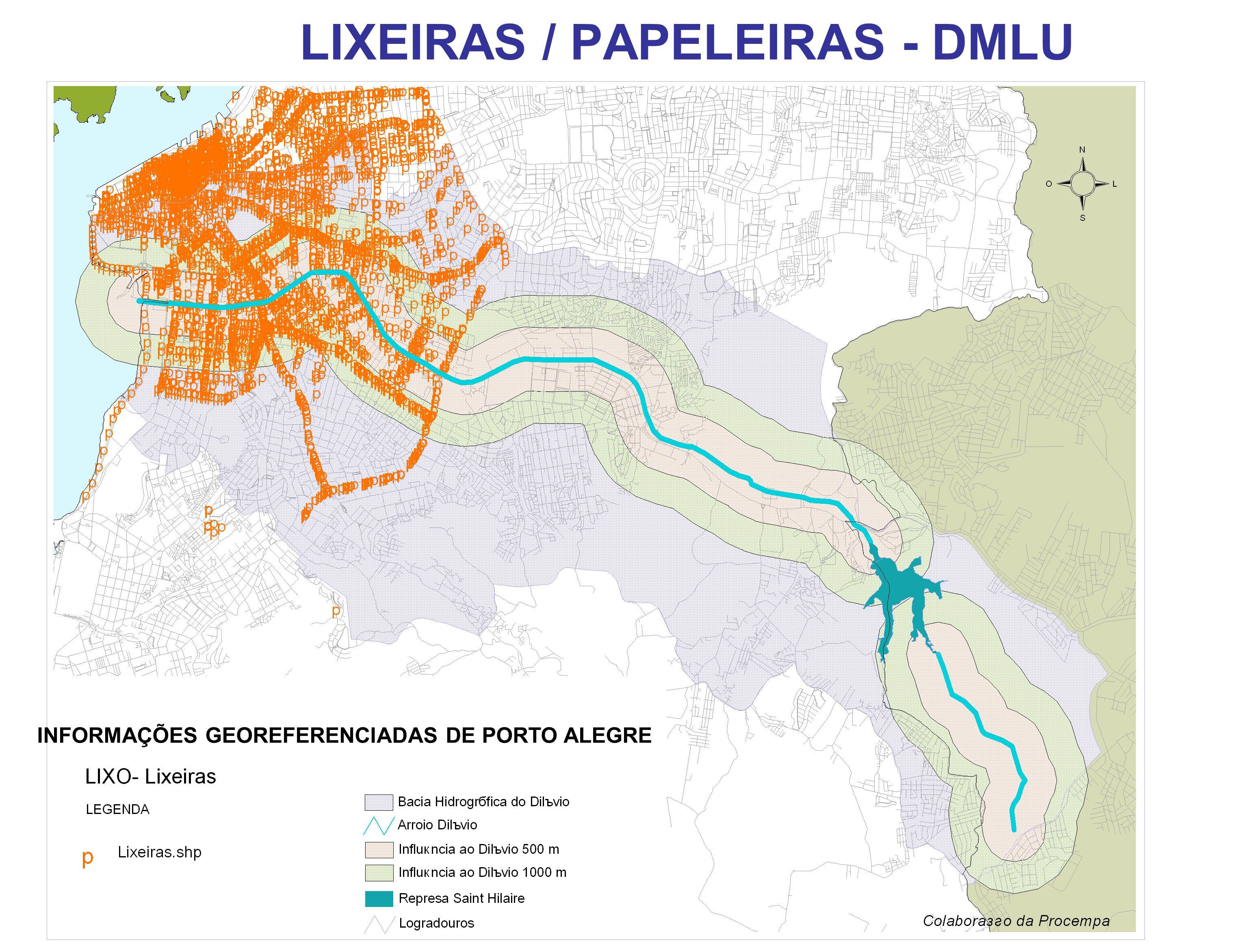 LIXEIRAS / PAPELEIRAS - DMLU
