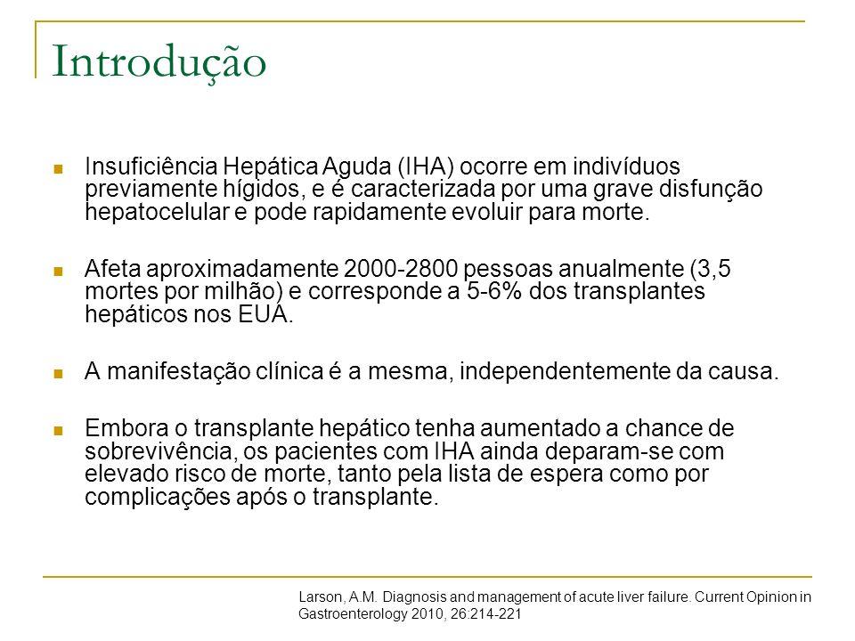 Hepatite Autoimune Insuficiência Hepática Aguda ocorre numa pequena parcela dos casos de Hepatite Autoimune, provavelmente em menos de 20%.