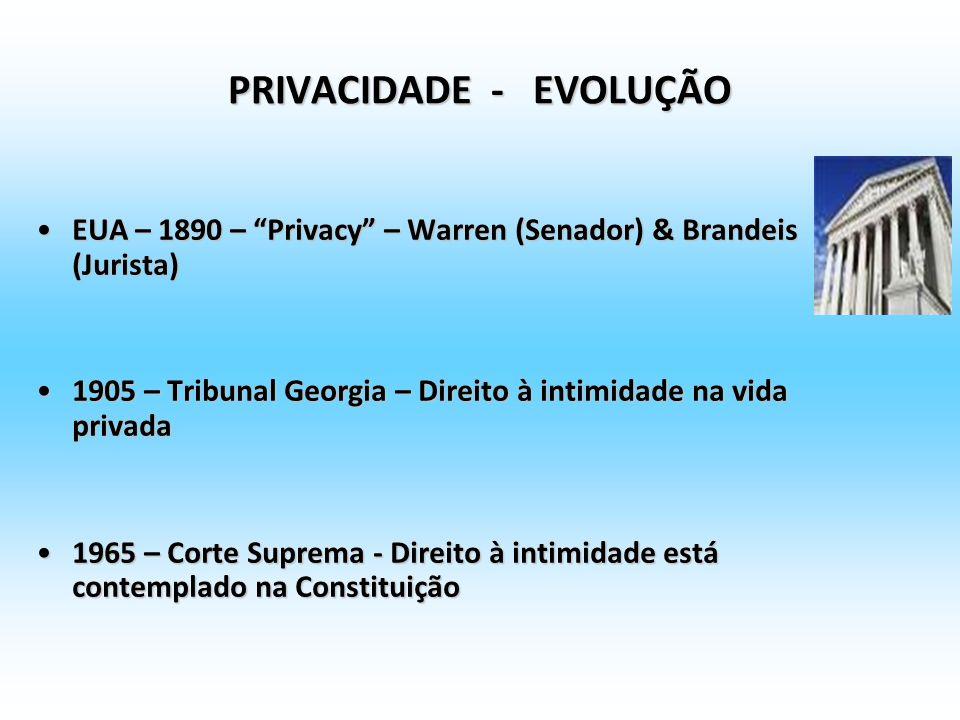 REGULAÇÕES COMUNITÁRIAS: Autodeterminação informativa direito à proteção dos dados de caráter pessoal (aspecto do direito à intimidade frente à inform