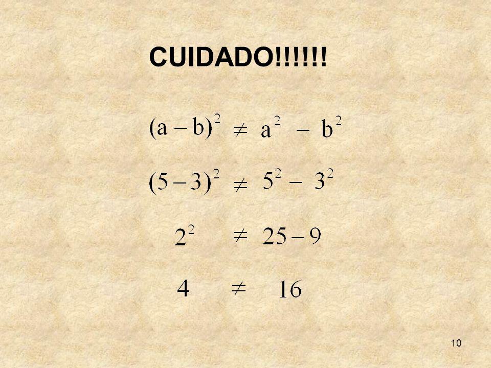 10 CUIDADO!!!!!!